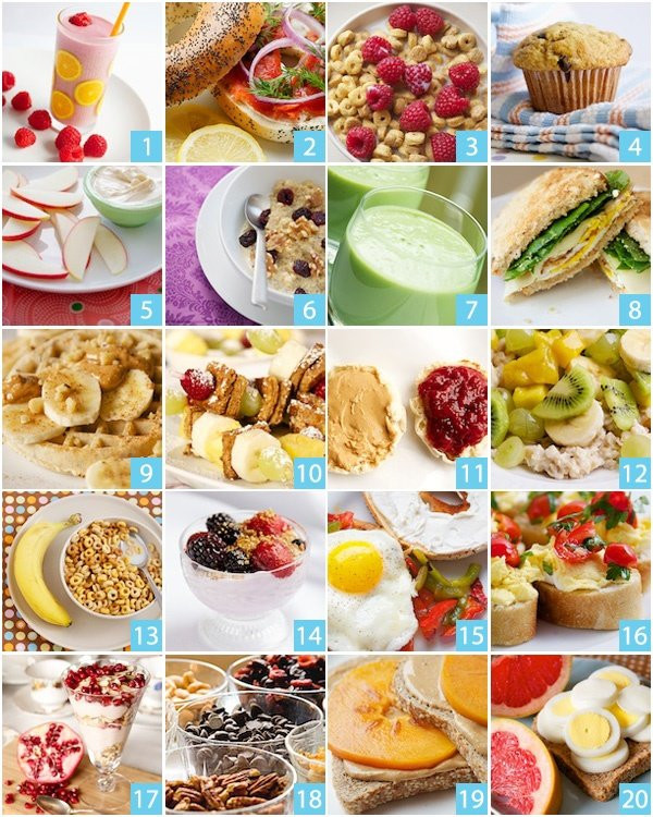 Healthy Breakfast Options On The Go  Diet Breakfast Ideas For A Fresh Start The Day Fitneass