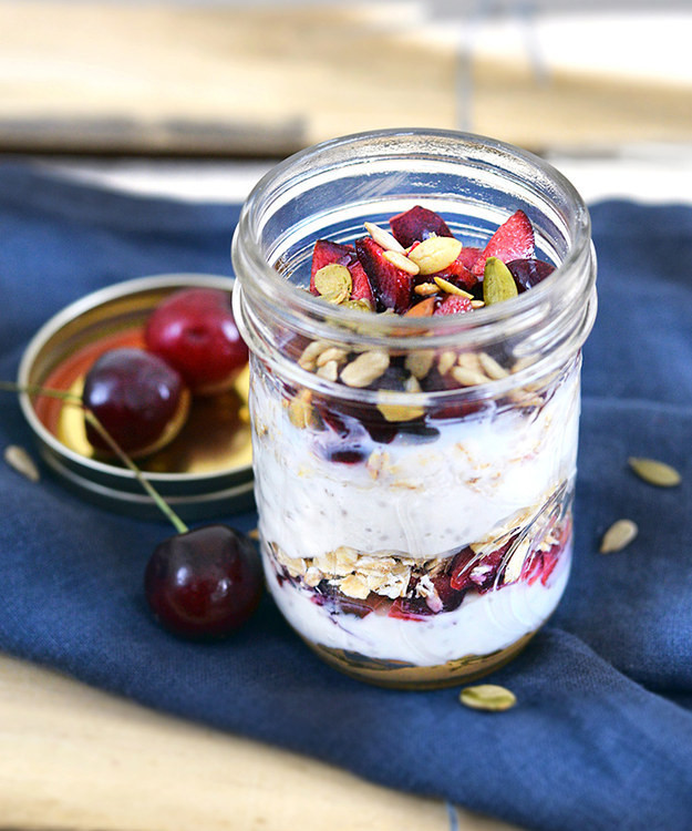 Healthy Breakfast Parfait  21 Awesome Fat Busting Healthy Breakfast Recipes