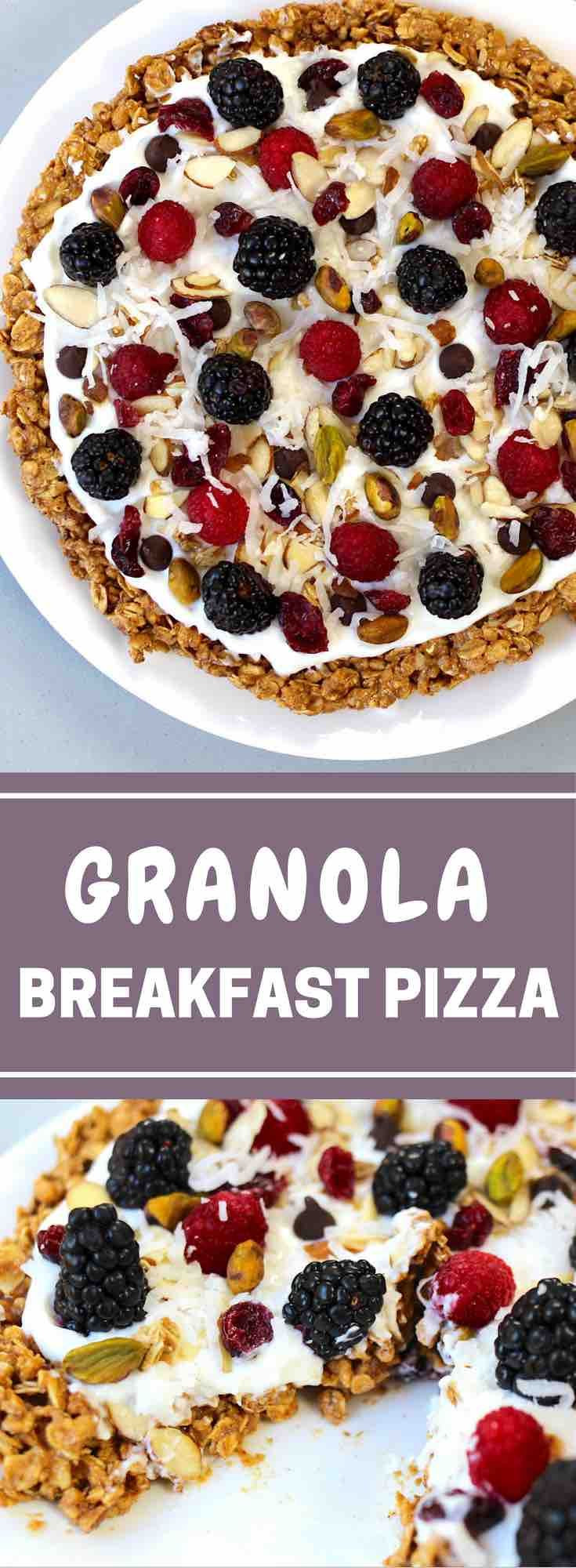 Healthy Breakfast Pizza  15 best ideas about Healthy Breakfasts on Pinterest