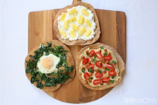 Healthy Breakfast Pizza  Pizza for breakfast 3 Tasty recipes