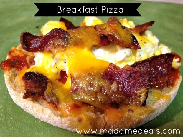 Healthy Breakfast Pizza  Healthy Breakfast Recipes for Kids Breakfast Pizza Real