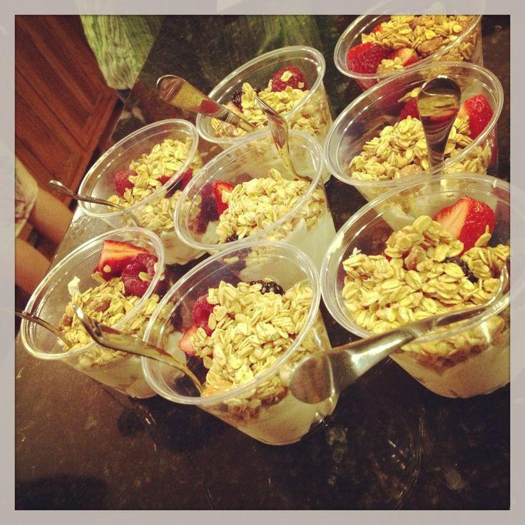 Healthy Breakfast Potluck Ideas  29 best Healthy Breakfast Meeting & Potluck Ideas images