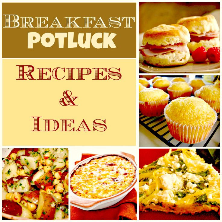Healthy Breakfast Potluck Ideas  A pilation of dishes & recipes for you to try at your