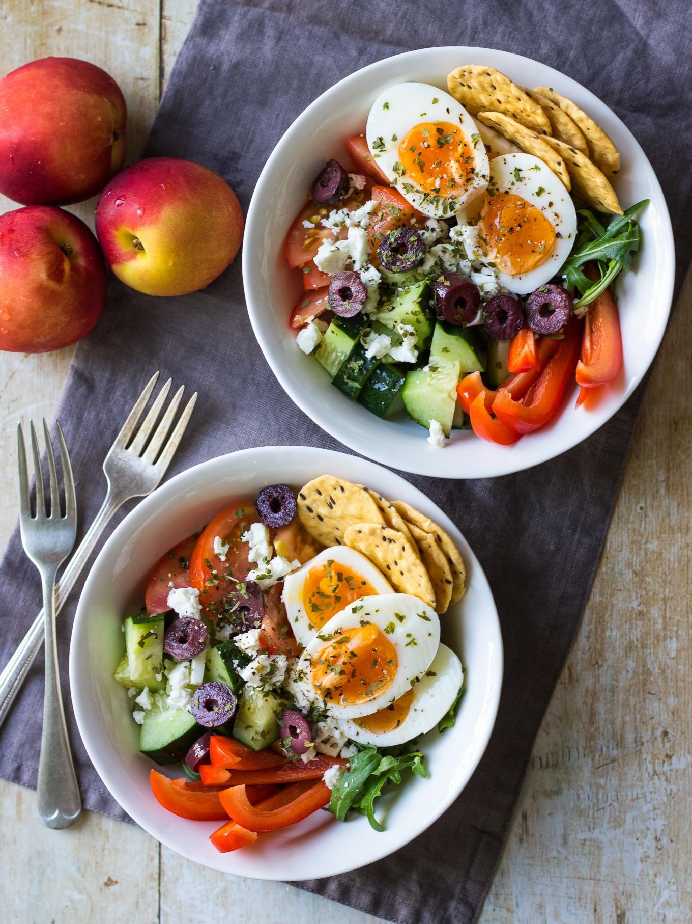 Healthy Breakfast Prep  Meal Prep Breakfast Bowls Greek Style