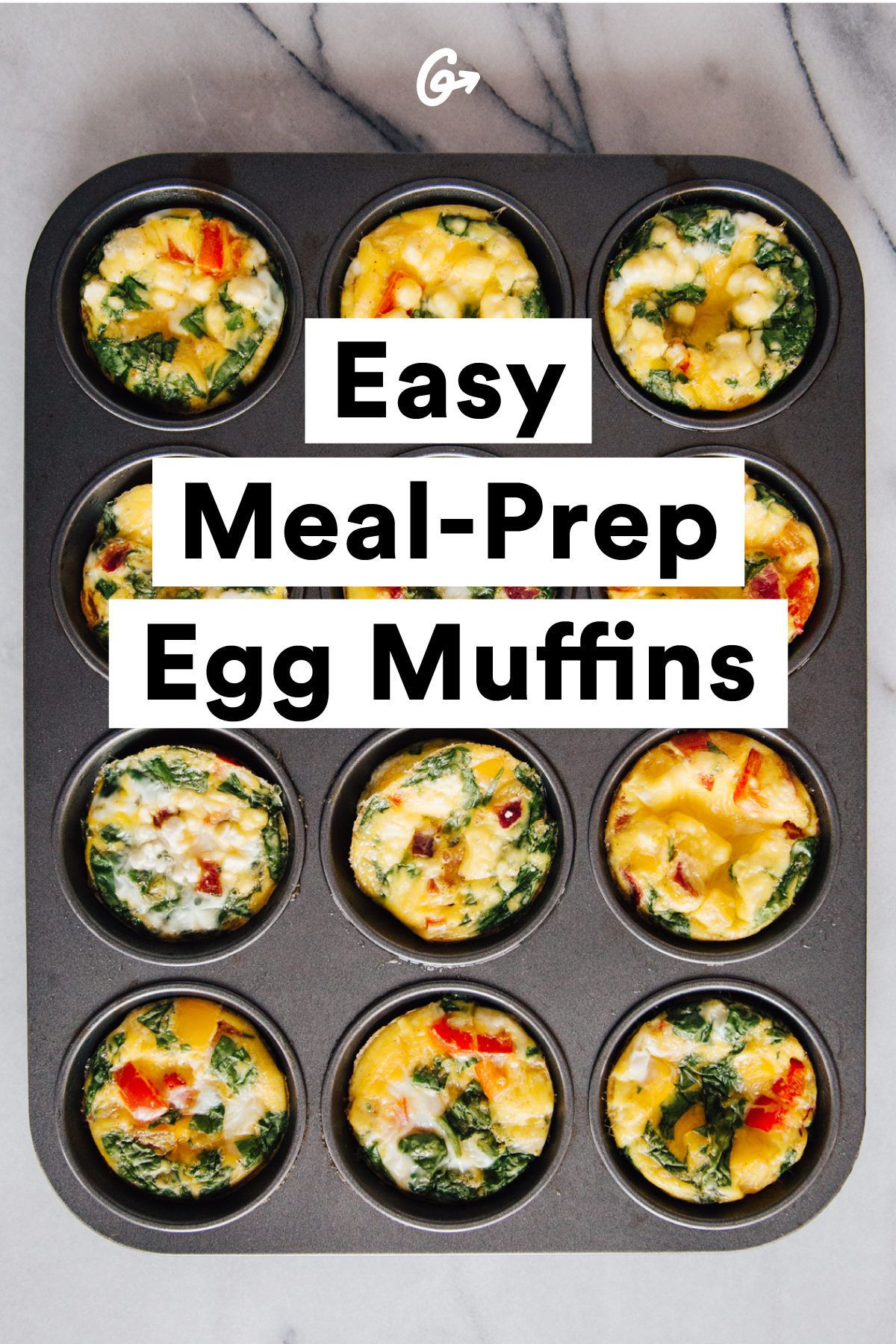 Healthy Breakfast Prep  Make Eggs ce Eat Them All Week Without Getting Bored