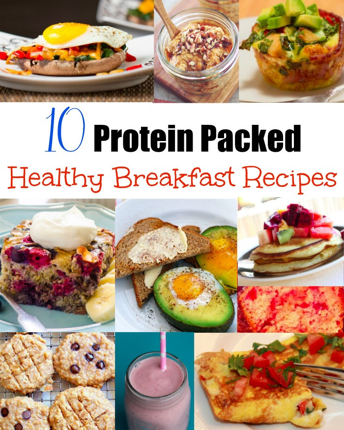 Healthy Breakfast Protein  Protein Packed Healthy Breakfasts