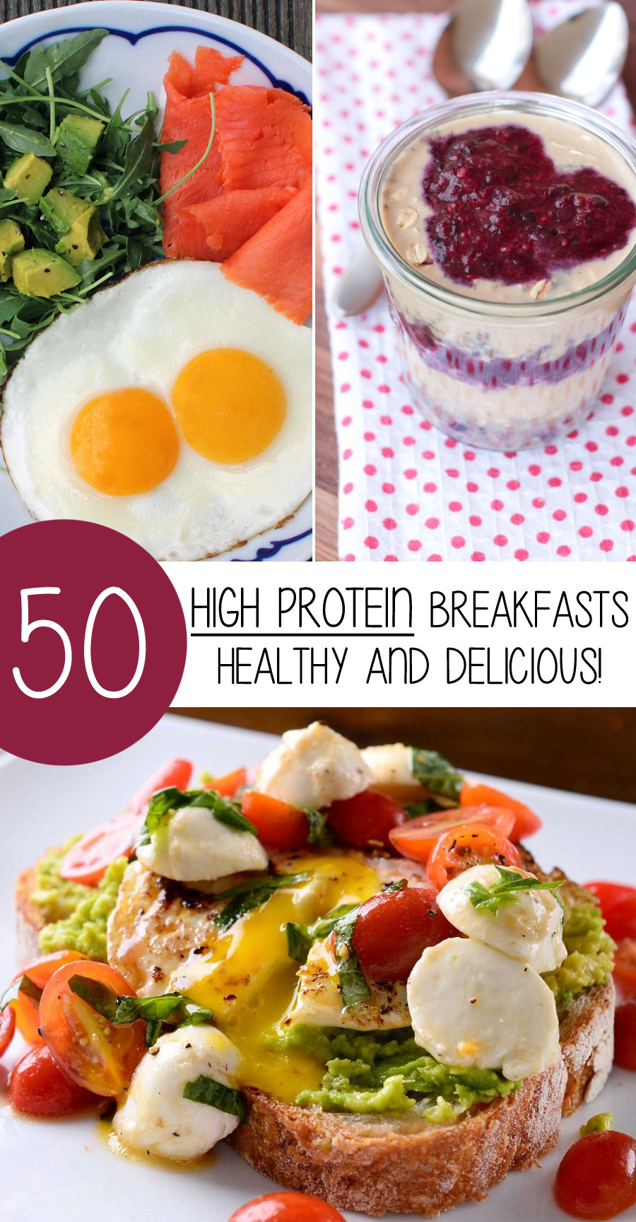 Healthy Breakfast Protein  50 High Protein Breakfasts That Are Healthy And Delicious