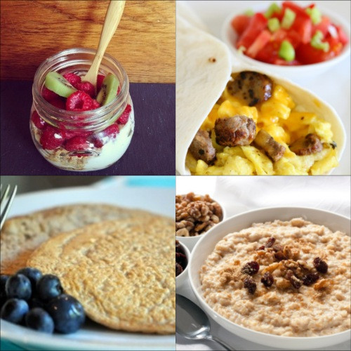 Healthy Breakfast Protein  Five Protein Breakfasts for Weight Loss