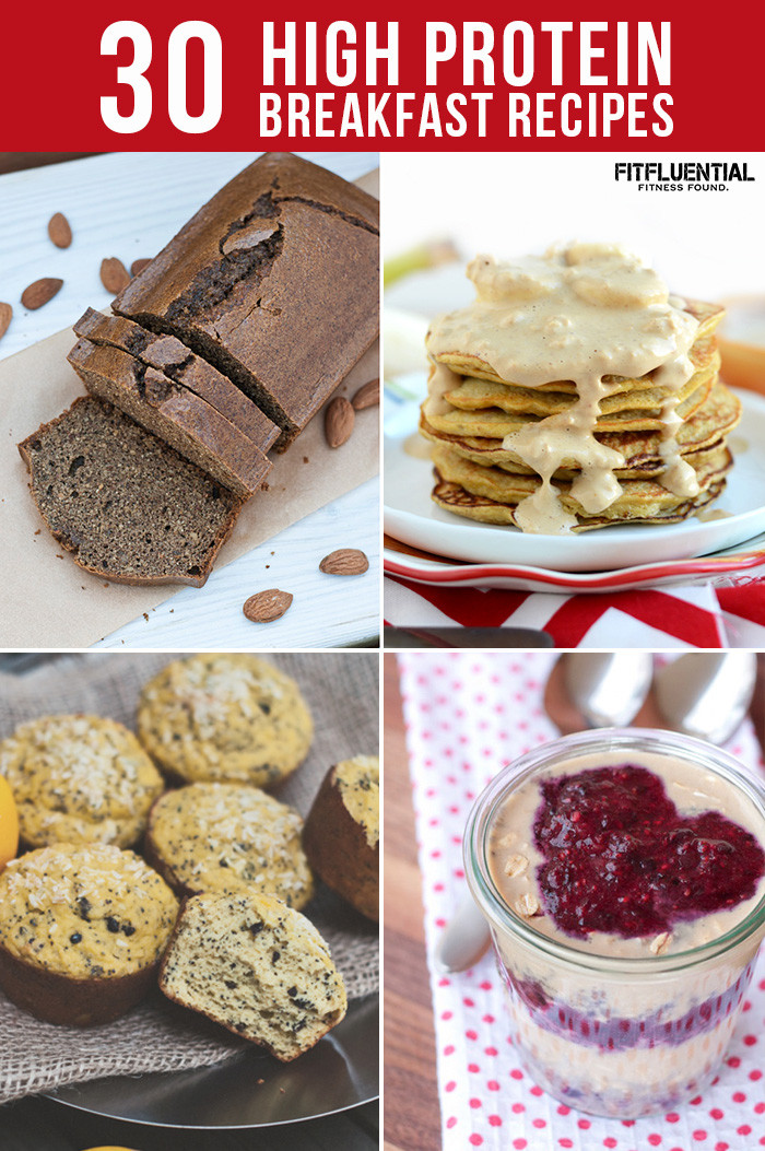 Healthy Breakfast Protein  30 High Protein Breakfast Recipes FitFluential