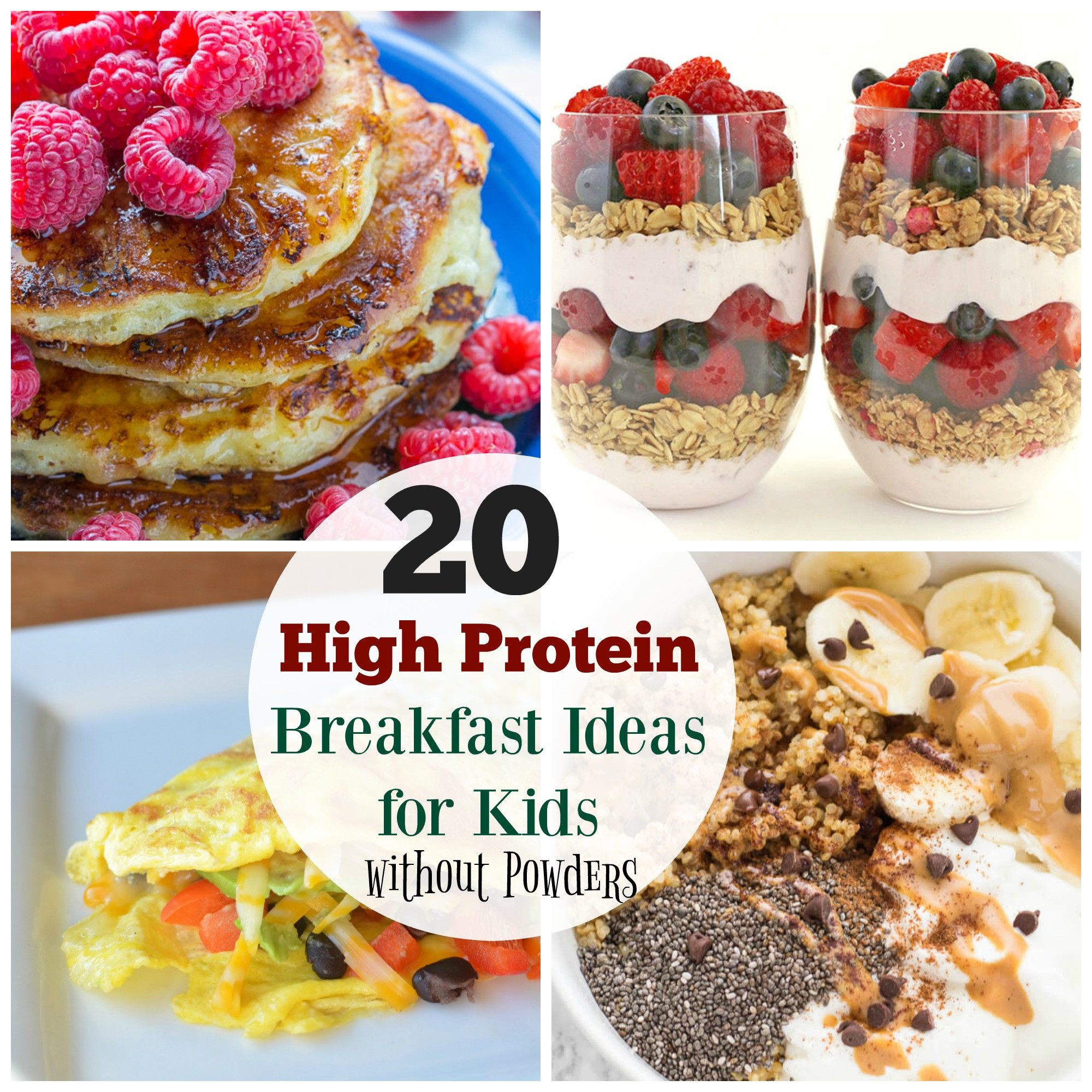 Healthy Breakfast Protein  20 High Protein Breakfast Ideas for Kids The Organized Mom