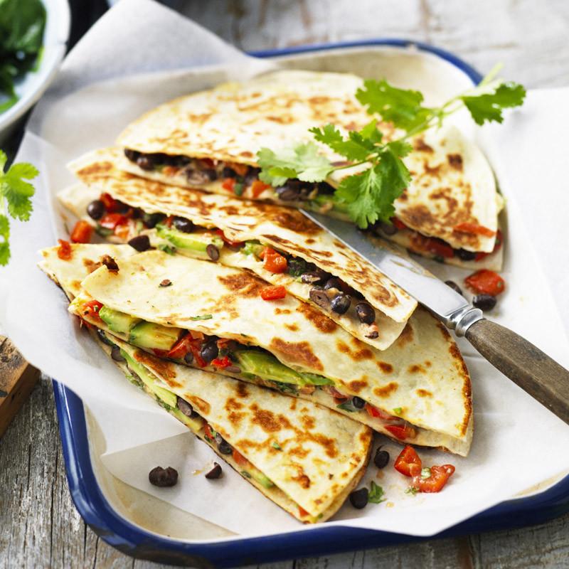 Healthy Breakfast Quesadilla  Breakfast quesadilla Recipes