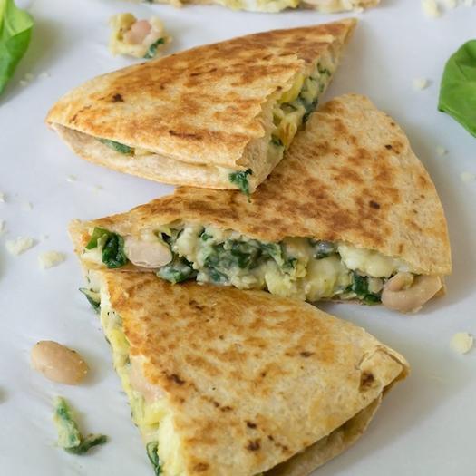 Healthy Breakfast Quesadilla  10 Healthy Breakfast Recipes for Freezer Meals