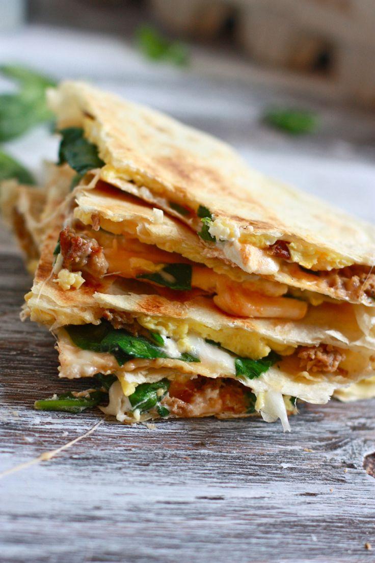 Healthy Breakfast Quesadilla Recipes  29 best Healthy Breakfast images on Pinterest