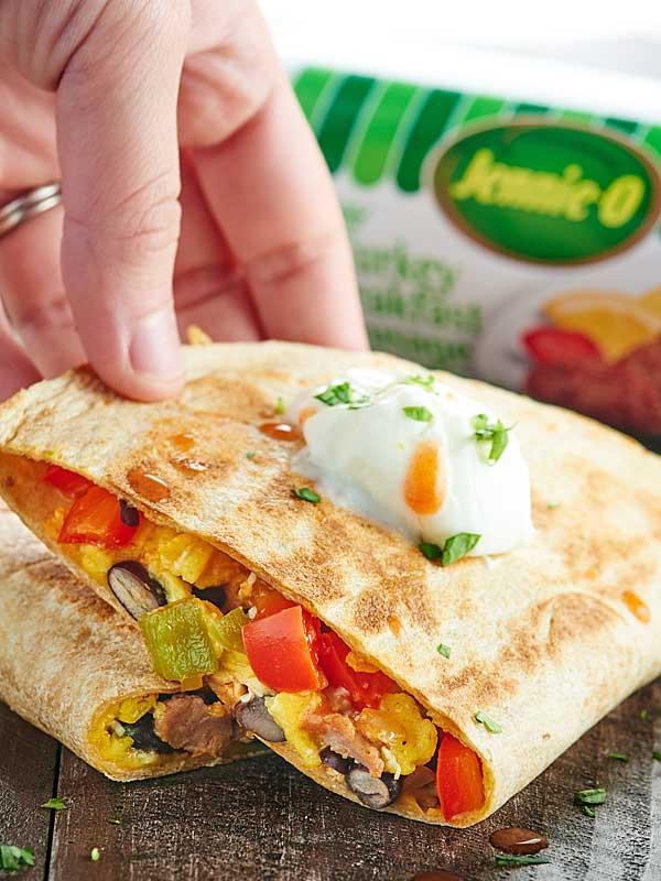 Healthy Breakfast Quesadilla  Sausage Breakfast Quesadilla Recipe Freezer Friendly