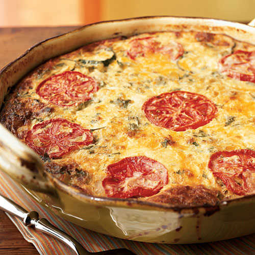 Healthy Breakfast Quiche  Garden Ve able Crustless Quiche Healthy Breakfast and