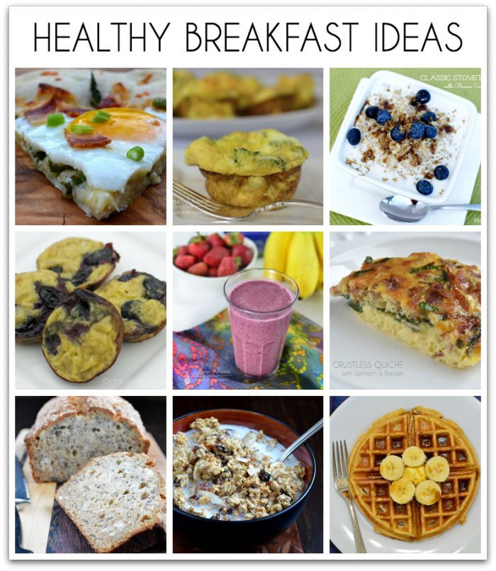 Healthy Breakfast Recipe Ideas  18 Healthy Breakfast Ideas