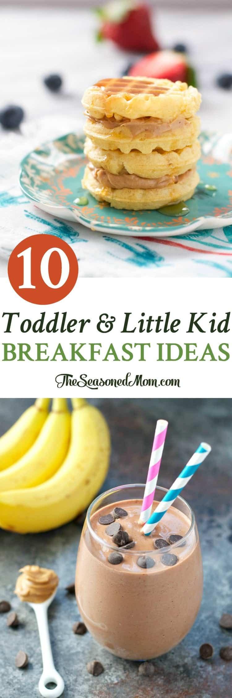 Healthy Breakfast Recipes For Kids  10 Toddler and Little Kid Breakfast Ideas The Seasoned Mom