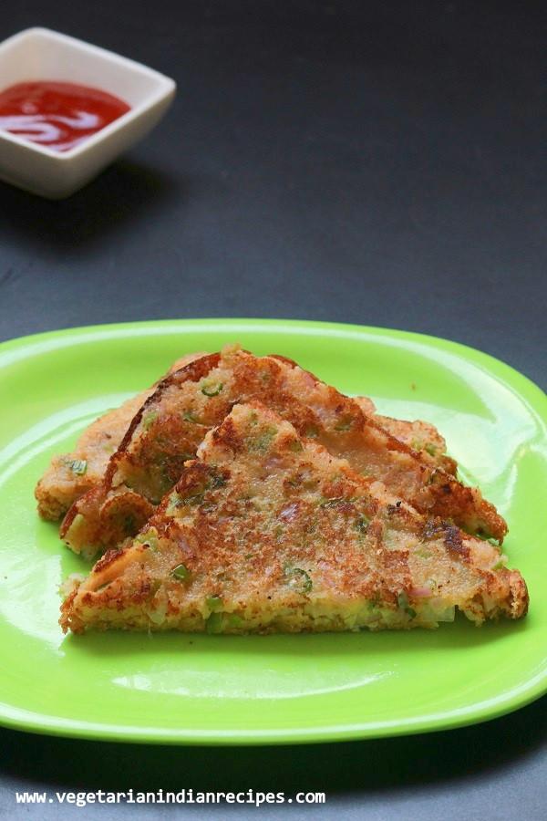 Healthy Breakfast Recipes Indian Vegetarian  rava toast recipe