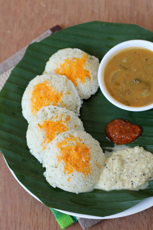 Healthy Breakfast Recipes Indian Vegetarian the top 20 Ideas About Carrot Idli Breakfast Recipes for Tiffin south Indian