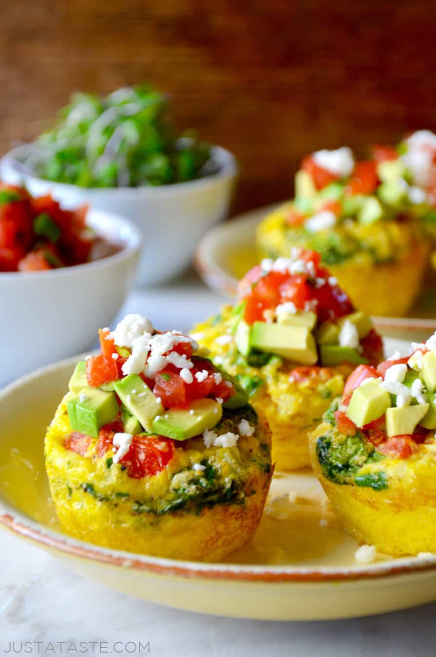 Healthy Breakfast Recipes With Eggs  Healthy Breakfast Egg Muffins
