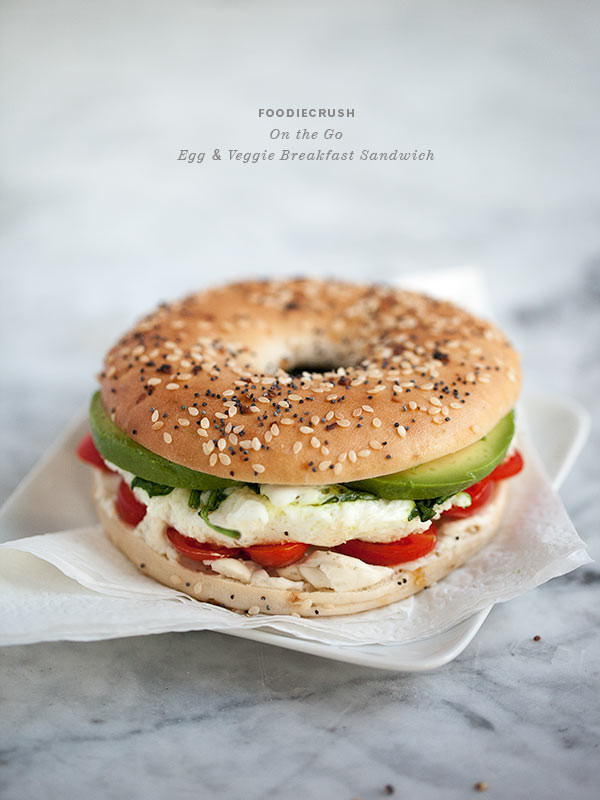 Healthy Breakfast Sandwich  19 Healthy Breakfasts When You Don t Have Time to Eat