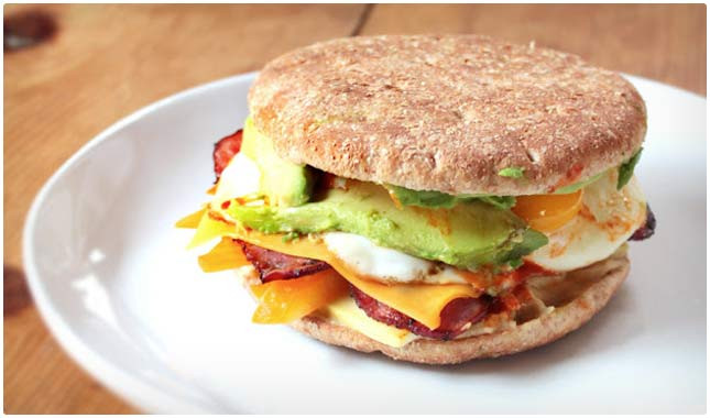 Healthy Breakfast Sandwich Fast Food  45 Healthy Breakfast Recipes & Meals