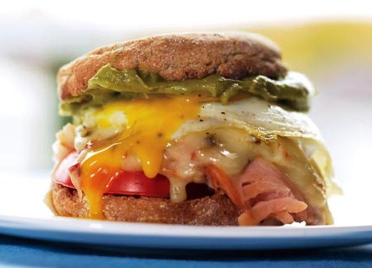 Healthy Breakfast Sandwich Fast Food  Maria's Fit Tip
