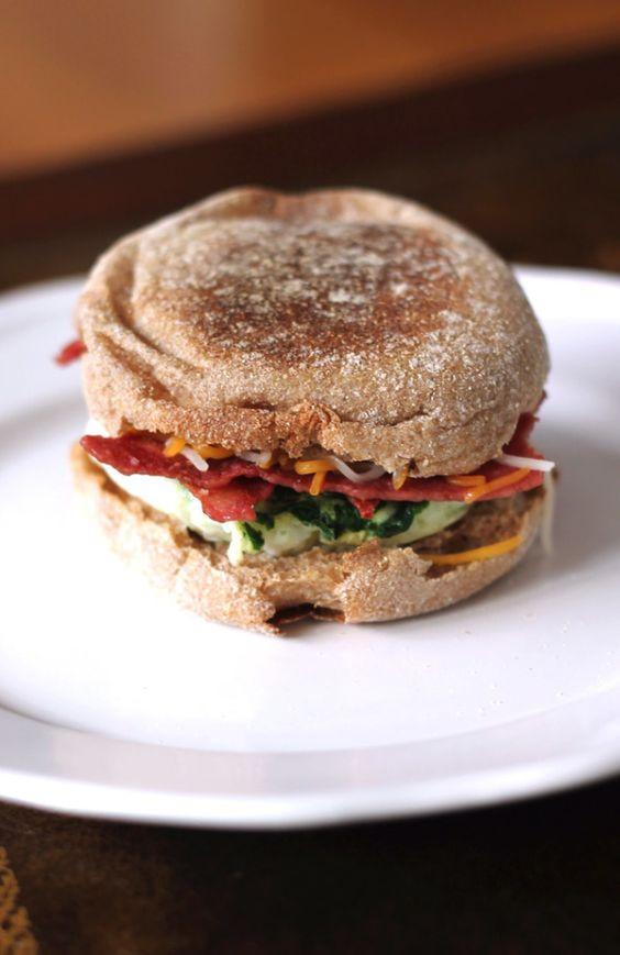 Healthy Breakfast Sandwich Ideas  5 Minute Healthy Breakfast Sandwich Recipe