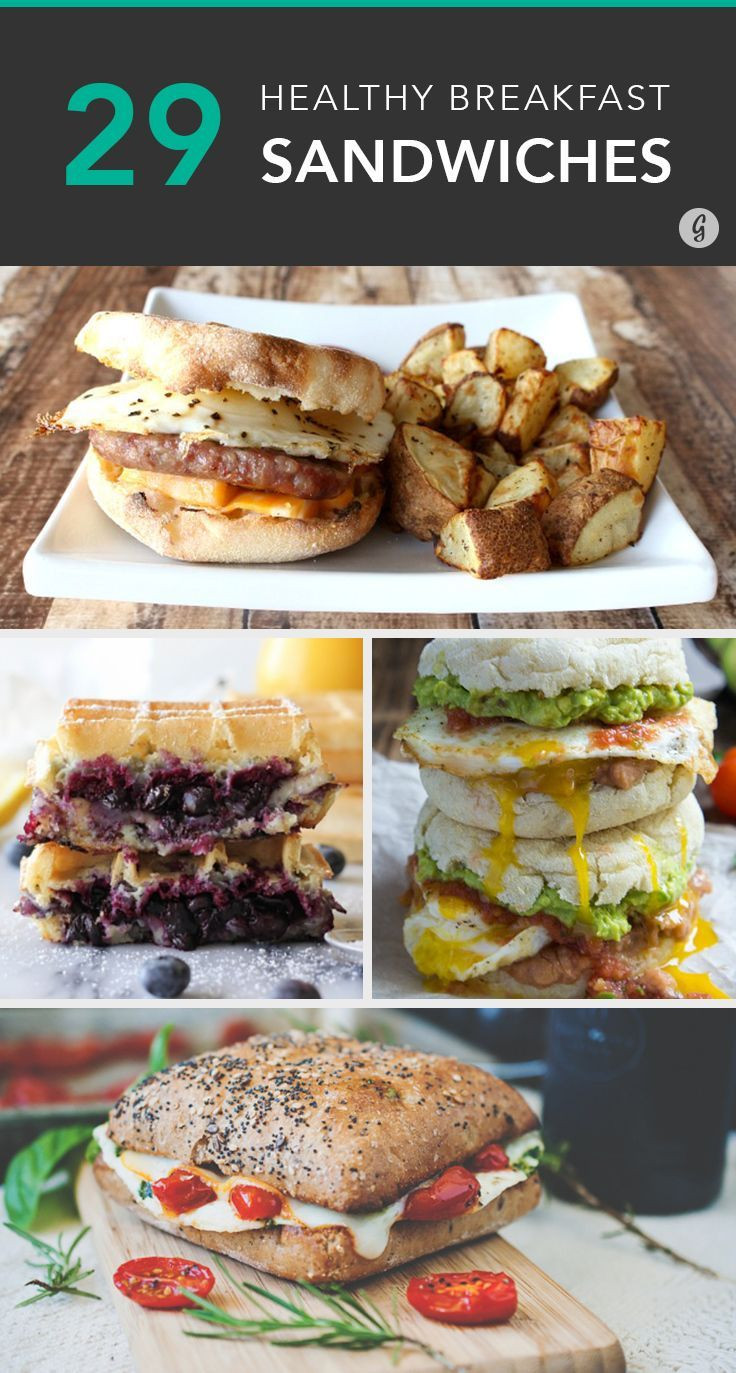 Healthy Breakfast Sandwich Ideas  Best 25 Healthy breakfast sandwiches ideas on Pinterest
