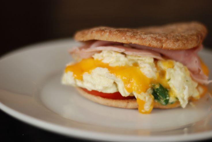 Healthy Breakfast Sandwich Ideas  10 best images about ww recipes on Pinterest