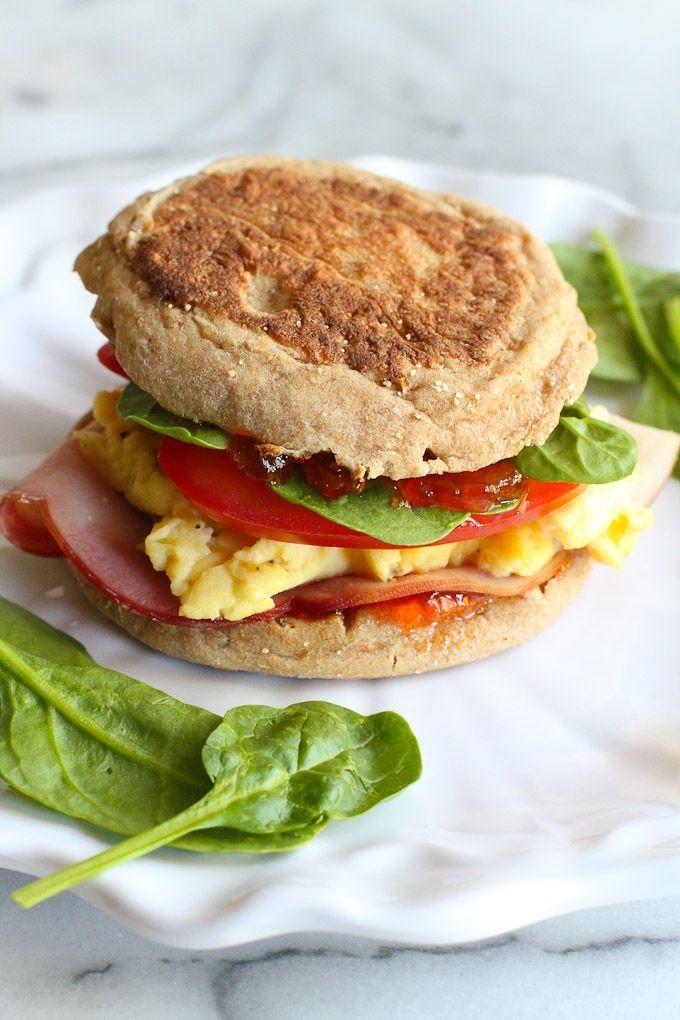 Healthy Breakfast Sandwich Ideas  1000 images about Healthy School Morning Breakfast