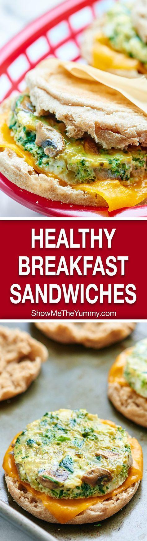 Healthy Breakfast Sandwich Ideas  The 25 best Breakfast sandwiches ideas on Pinterest