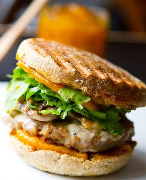 Healthy Breakfast Sandwich Ideas  Veggie sausage mushroom arugula and cheese breakfast
