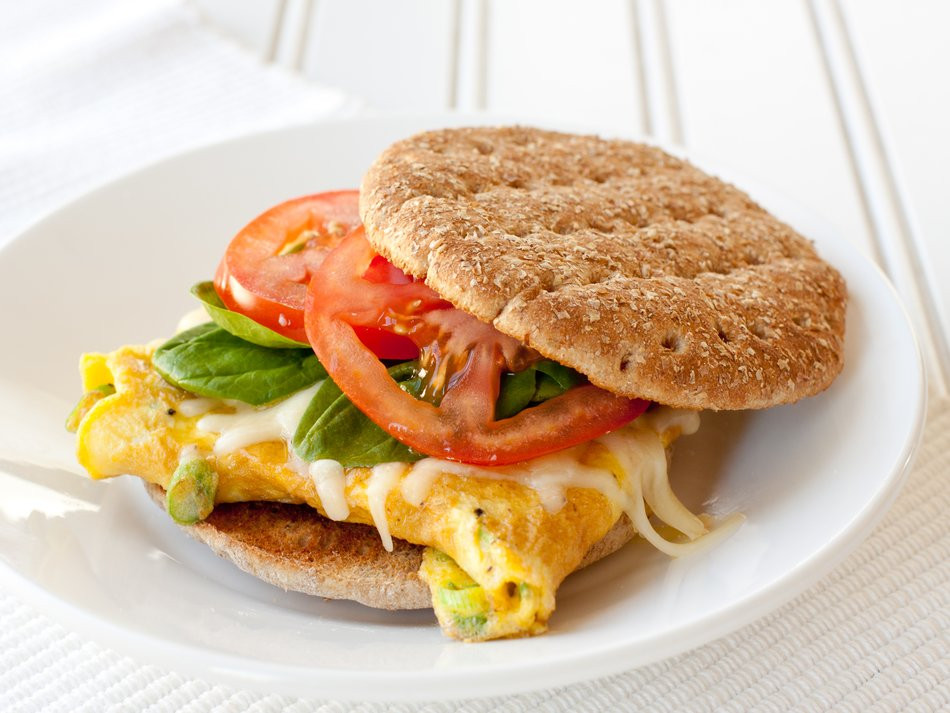 Healthy Breakfast Sandwich  Breakfast Sandwich Recipe Cabot Creamery