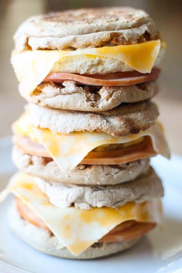 Healthy Breakfast Sandwich  Healthy Freezer Breakfast Sandwiches