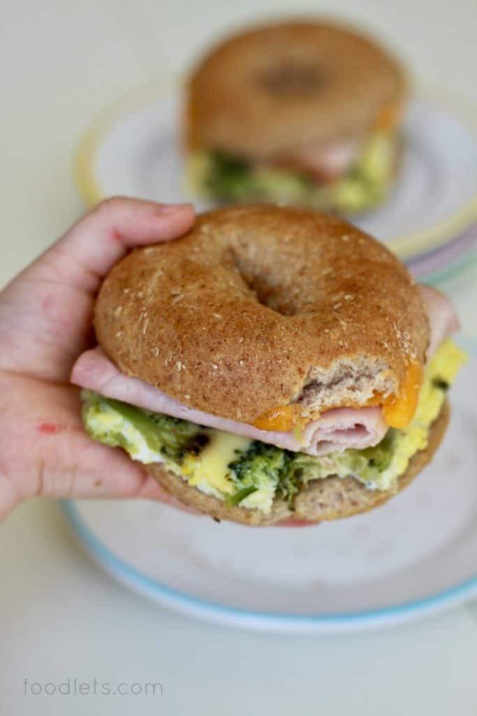 Healthy Breakfast Sandwich  The Make Ahead Healthy Breakfast Recipe for Busy School Days