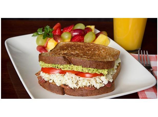 Healthy Breakfast Sandwiches  Healthy Breakfast Sandwich