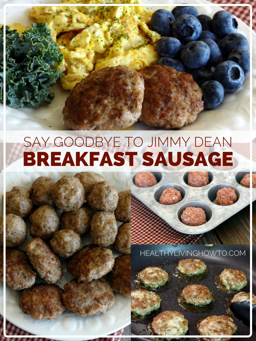 Healthy Breakfast Sausage Recipe  How To Make Healthy Breakfast Sausage