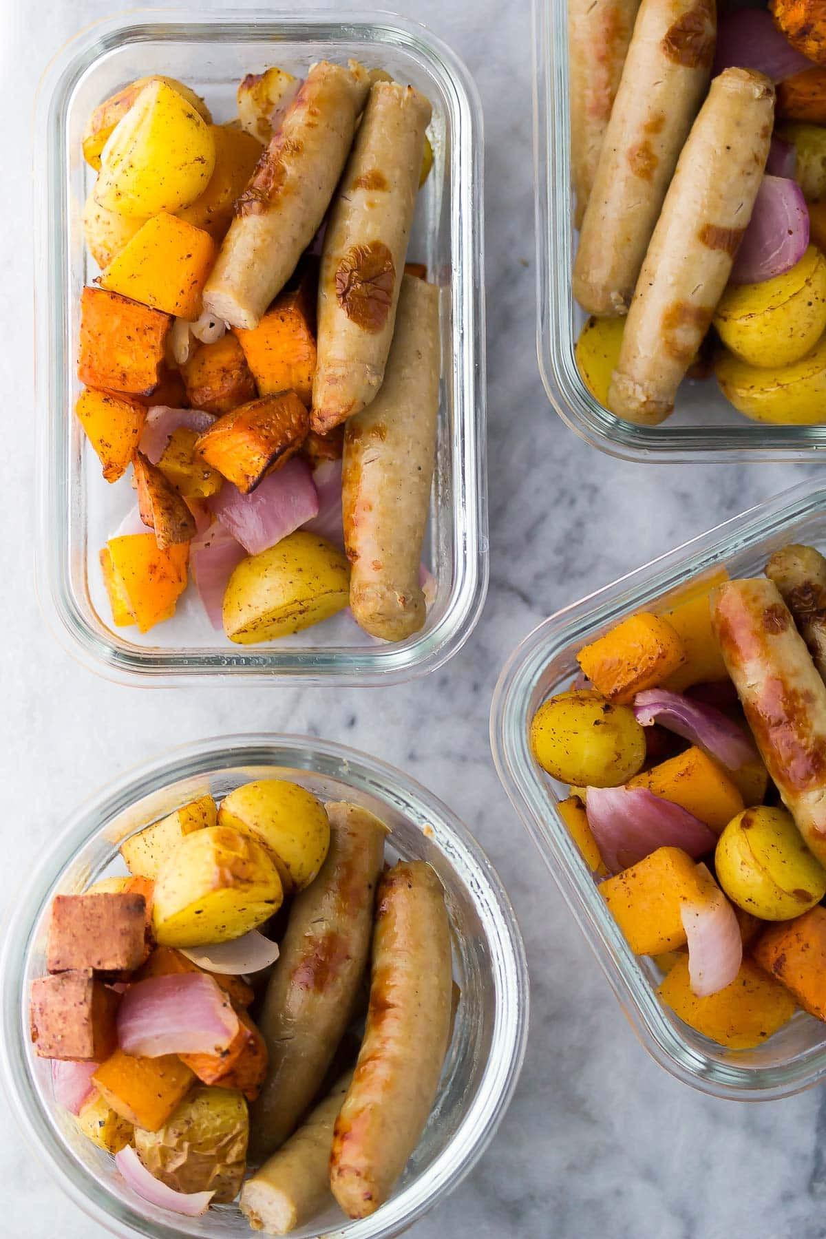 Healthy Breakfast Sausage  Make Ahead Healthy Sausage Breakfast Bowls