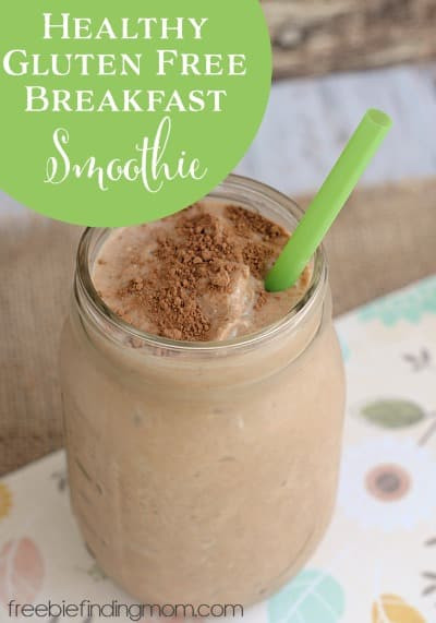 Healthy Breakfast Shake  Gluten Free Breakfast Foods Healthy Breakfast Smoothie