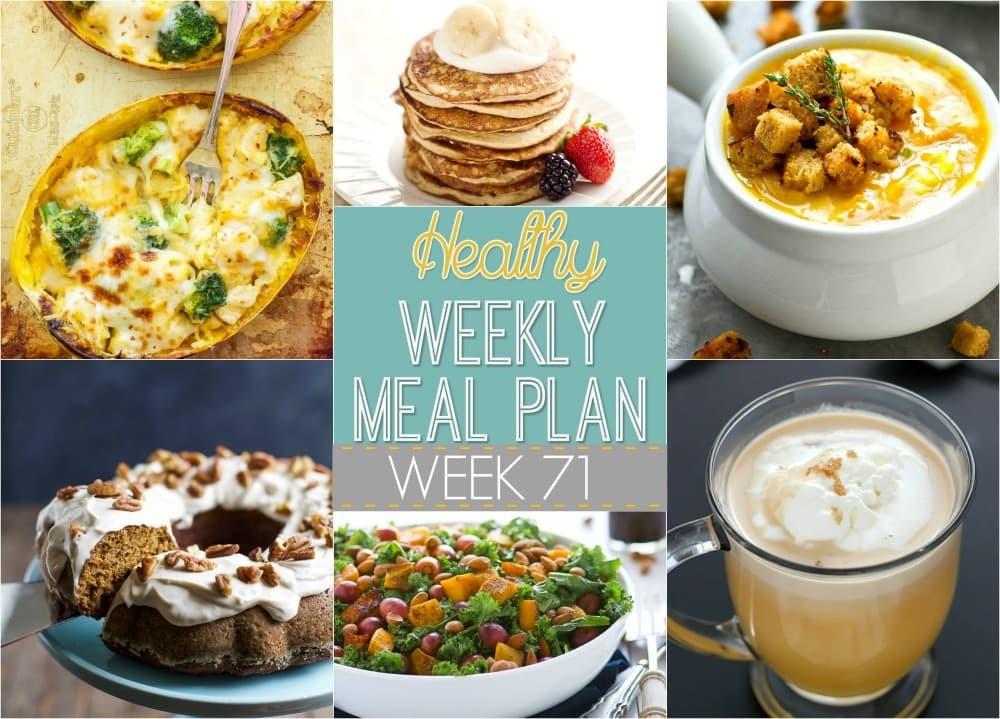 Healthy Breakfast Sides  Healthy Weekly Meal Plan 71 Yummy Healthy Easy