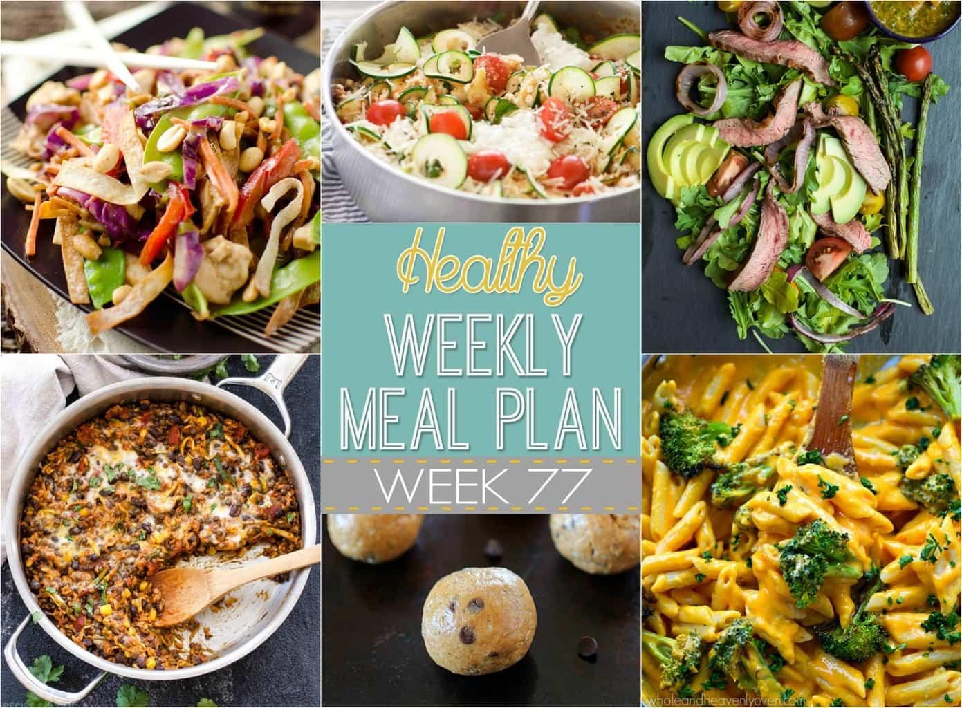 Healthy Breakfast Sides  Healthy Weekly Meal Plan 77 Yummy Healthy Easy