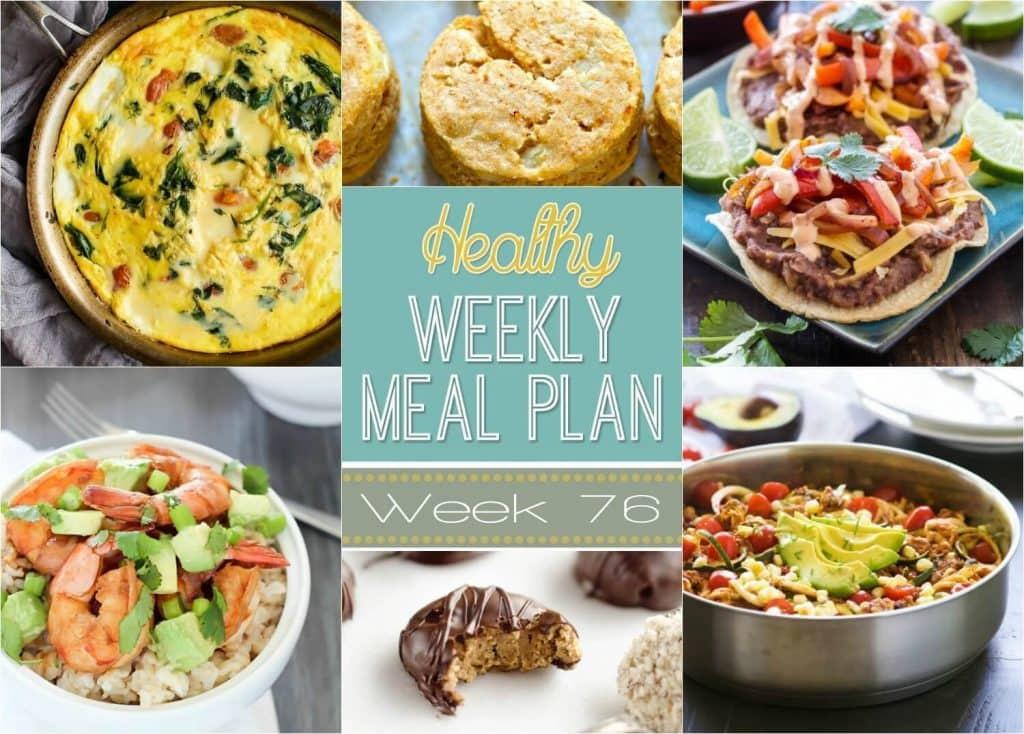 Healthy Breakfast Sides  Healthy Weekly Meal Plan 76 Yummy Healthy Easy