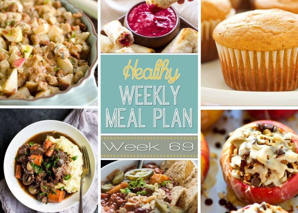 Healthy Breakfast Sides  Healthy Weekly Meal Plan 69 Yummy Healthy Easy