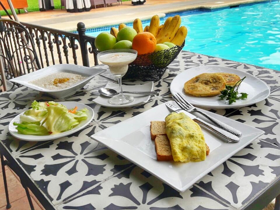 Healthy Breakfast Sides  Sunday Mornings at Montebello Villa Hotel