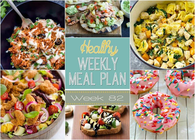 Healthy Breakfast Sides  Healthy Weekly Meal Plan 82 Yummy Healthy Easy