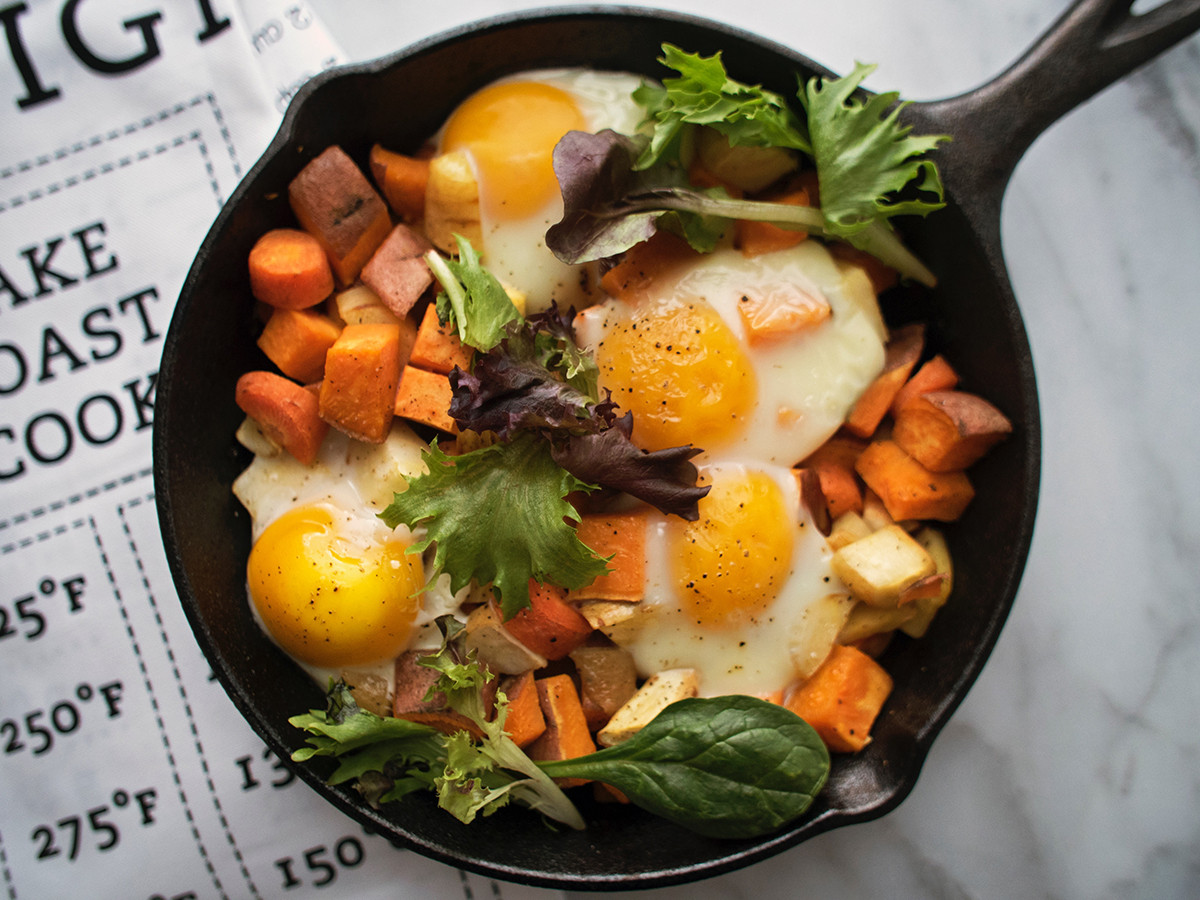 Healthy Breakfast Skillet  Make This Healthy Breakfast Skillet Recipe for Brunch