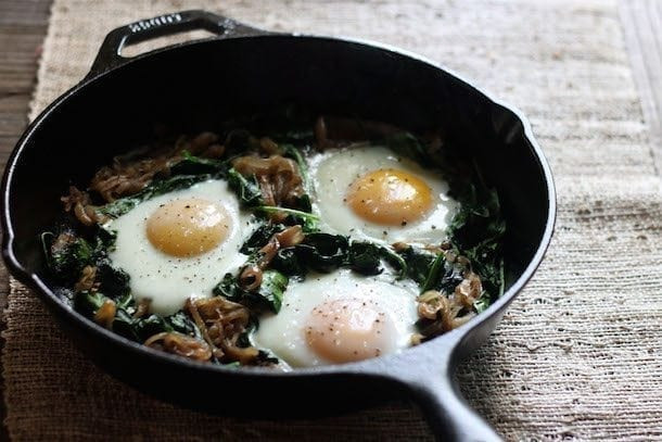 Healthy Breakfast Skillet  Power Greens Breakfast Skillet