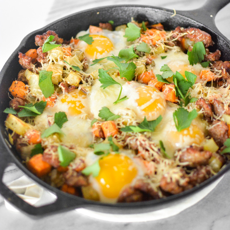 Healthy Breakfast Skillet  Sweet Potato Breakfast Skillet