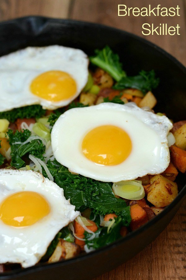 Healthy Breakfast Skillet  Breakfast Skillet Recipe Real Food Real Deals